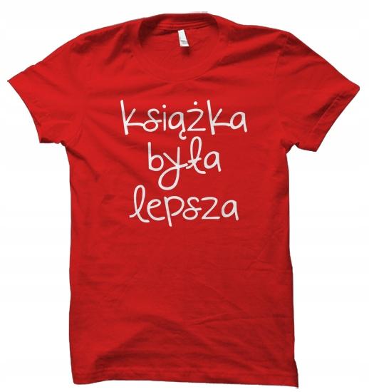 Książka Była Lepsza prezent t-shirt koszulka damsk