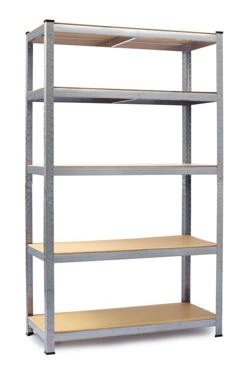 Regał metalowy magazynowy 150 x 75 x 30 Humberg