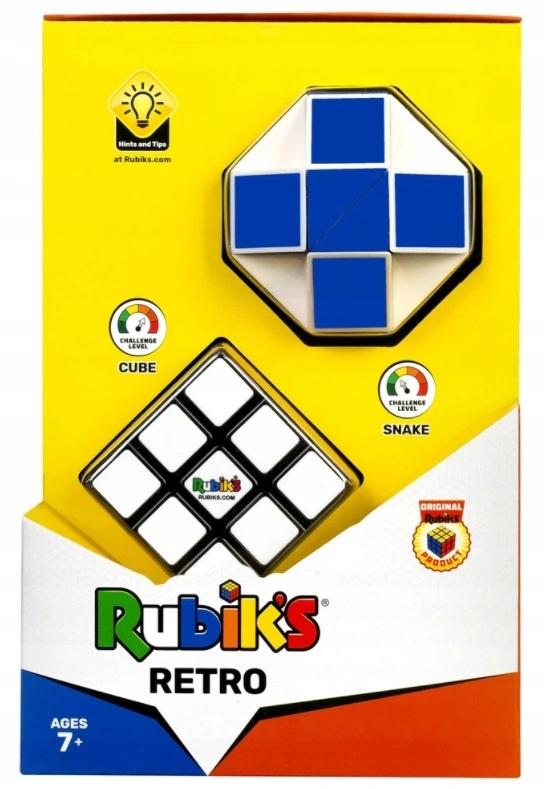 RUBIKA RETRO CUBE 3x3x3 TWIST SNAKE HADICA RUB3029