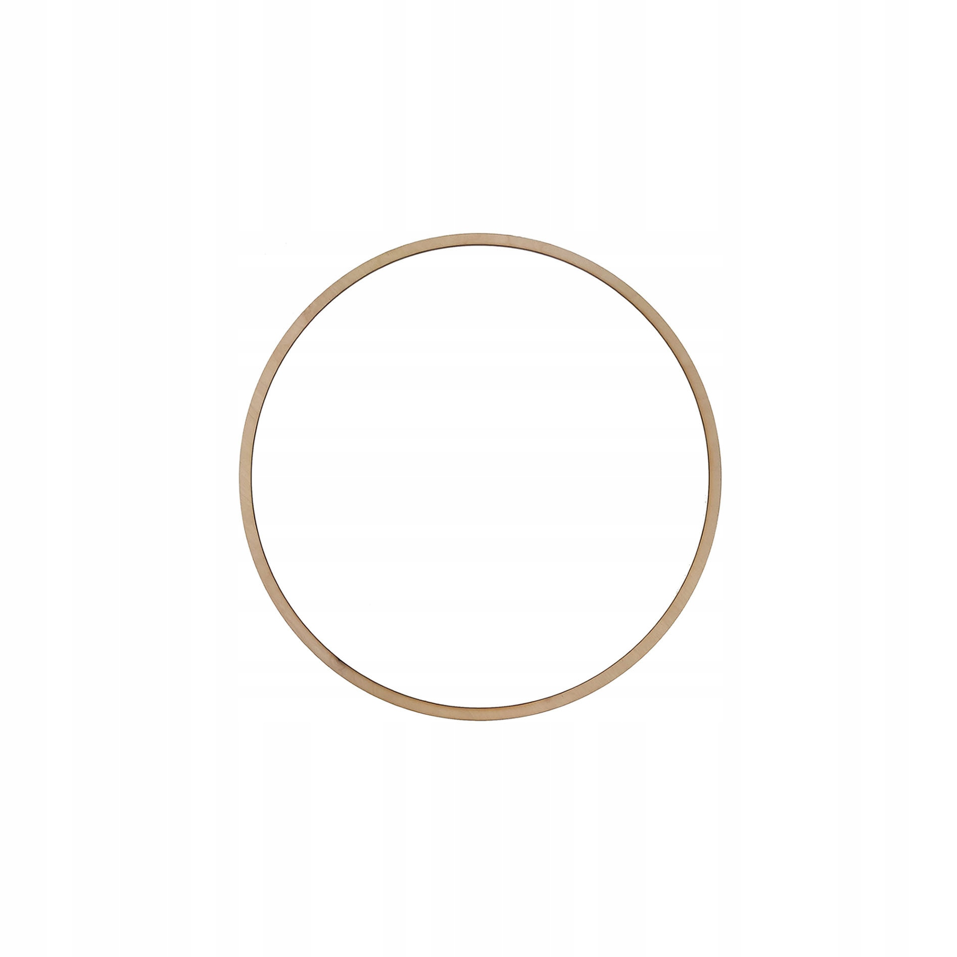 Drewniana obręcz kółko do łapacza snów - 14 cm