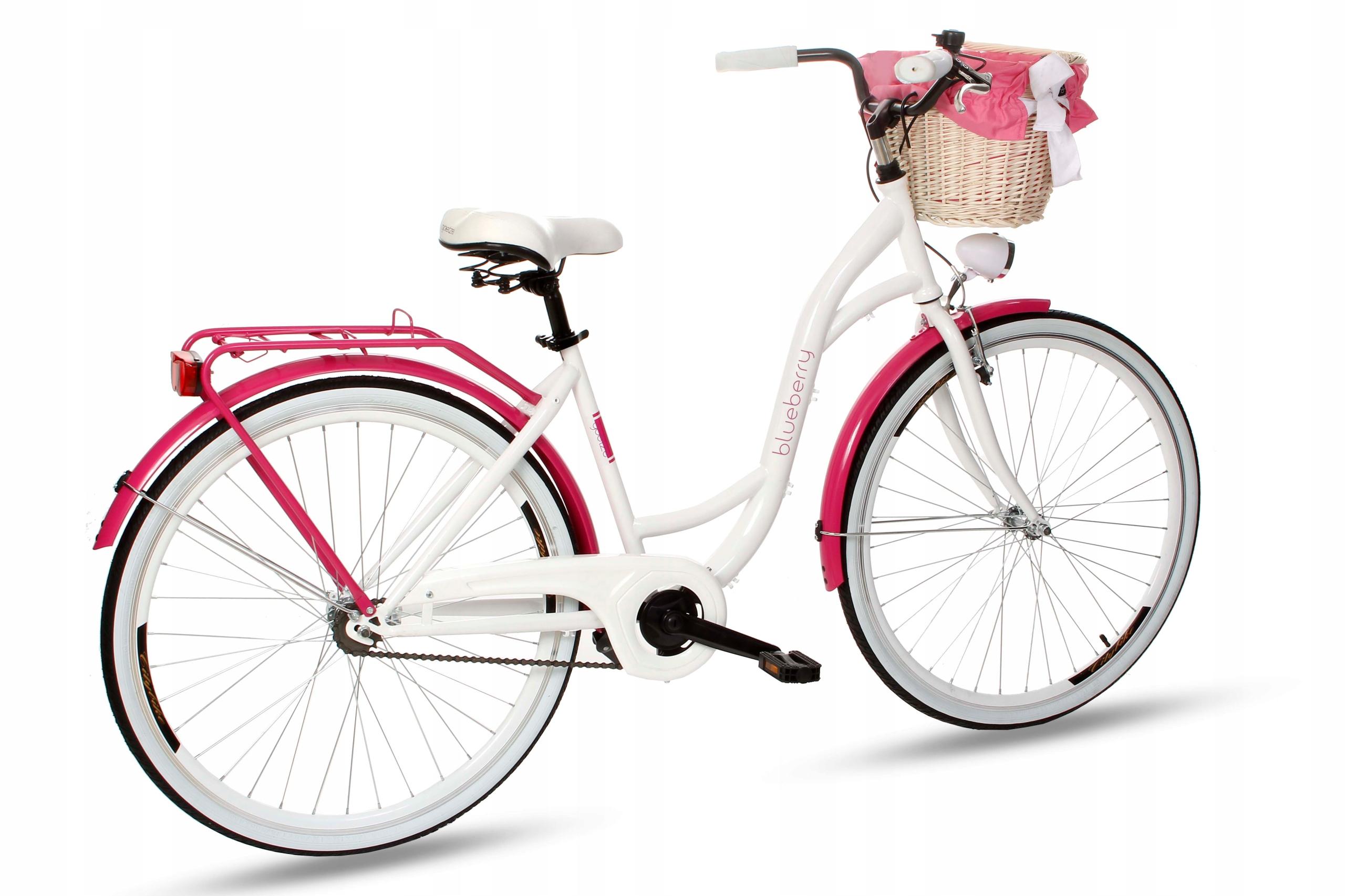 Dámsky mestský bicykel Goetze BLUEBERRY 28 košík!  Farba iná
