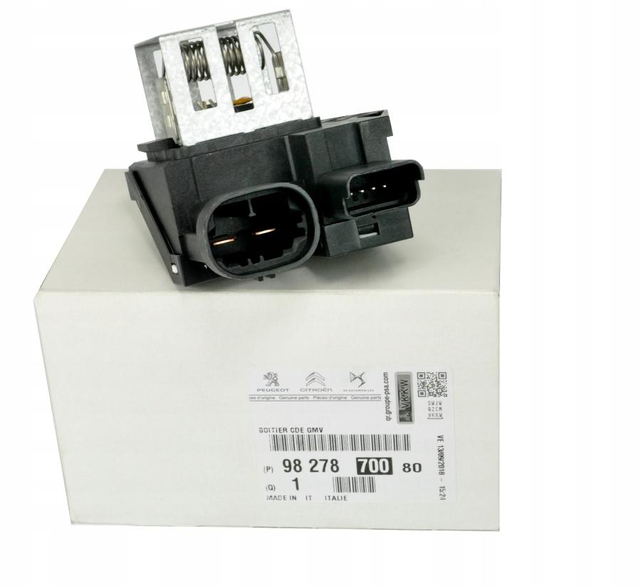 резистор резистор вентилятора peugeot 207 407 508