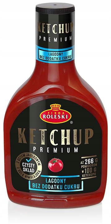 ROLESKI Mild Premium Кетчуп без сахара 425г