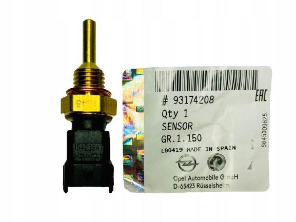 датчик температуры воды opel astra g h vectra c