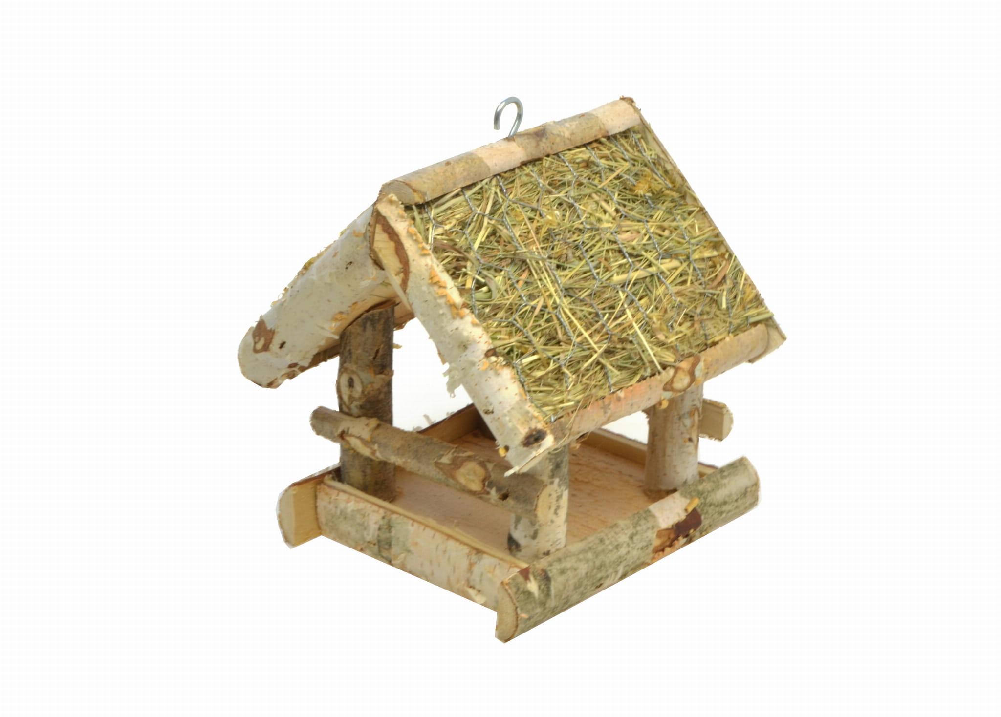 Кормушка для птиц, сарай, домик, дрова К115