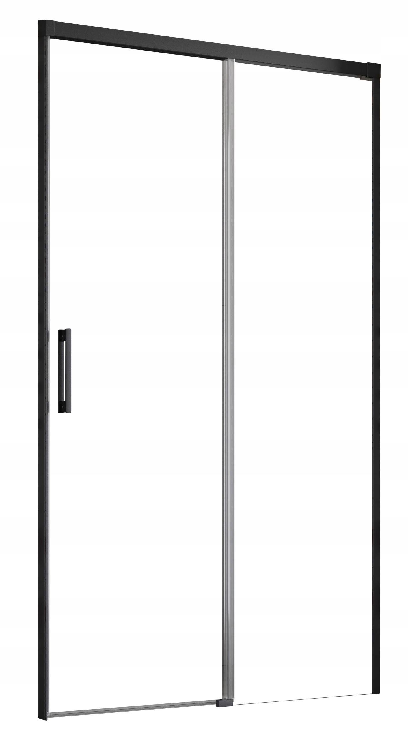 Idea Black sprchové dvere DWJ 110x200,5 RADAWAY