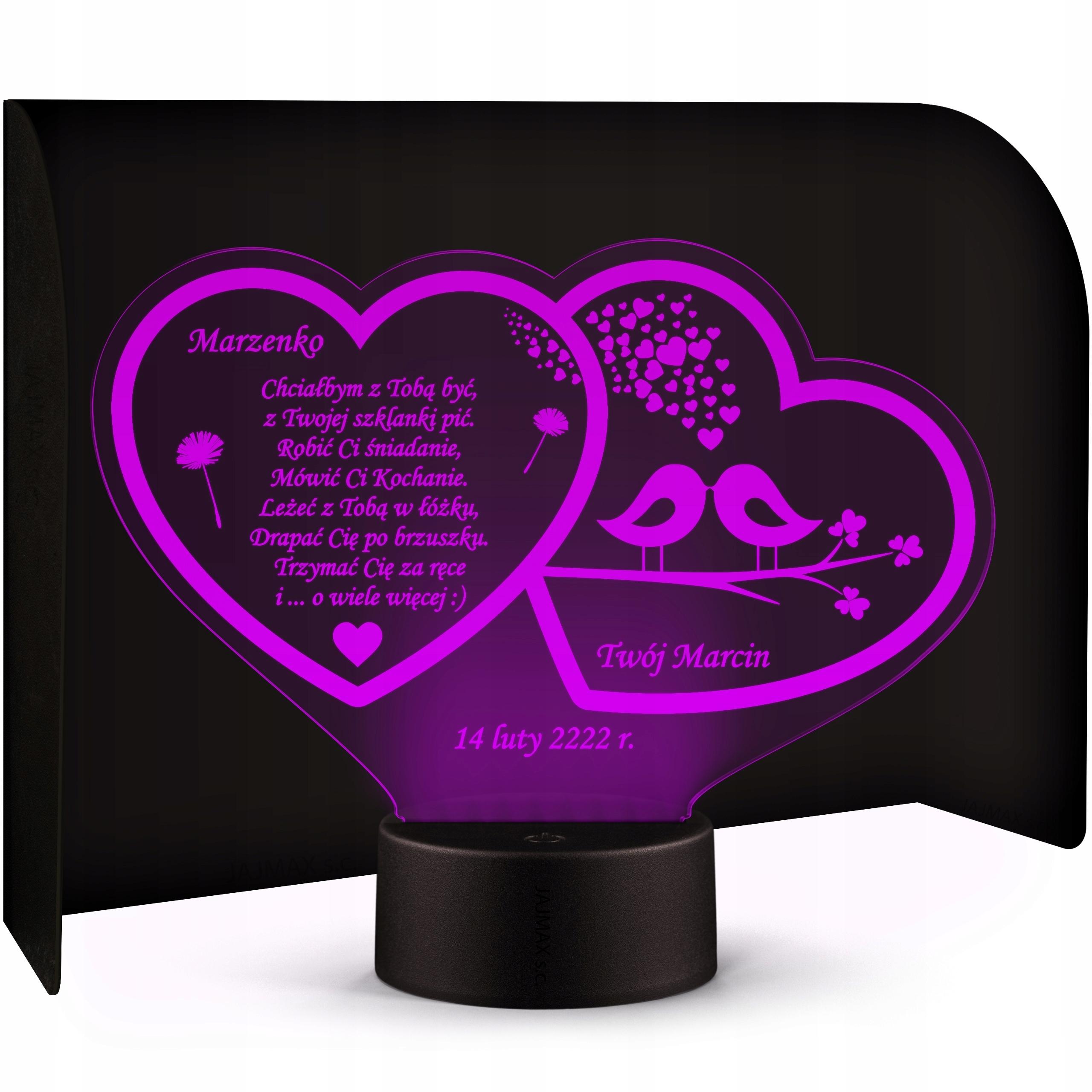 LED Stutette Valentine je dar pre milovníkov