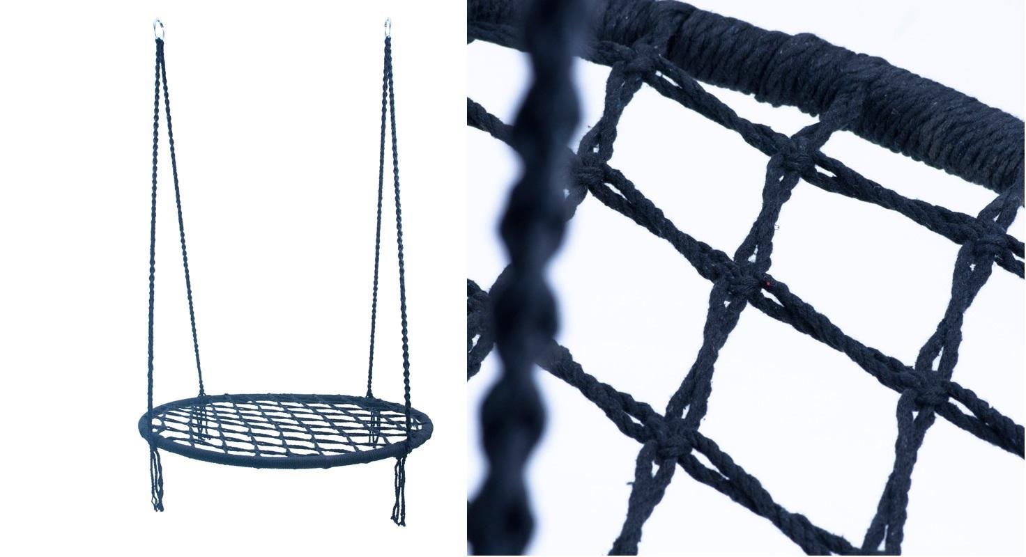 BOCIANIE GNIAZDO HUŚTAWKA 60cm DOM OGRÓD