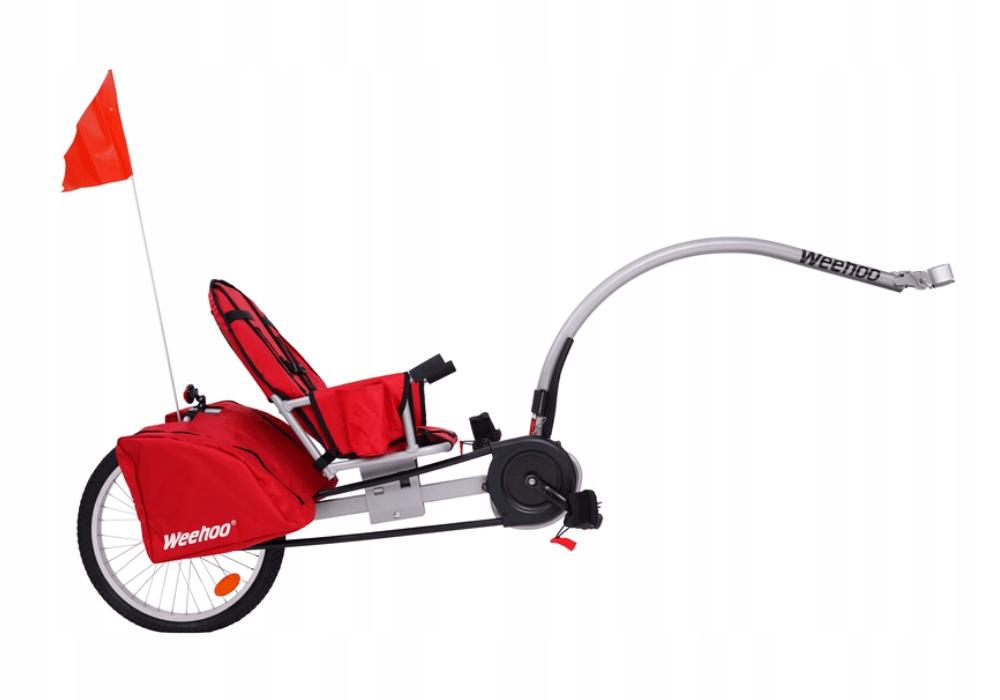 Przyczepka rowerowa dla 1 dziecka Weehoo Igo Turbo