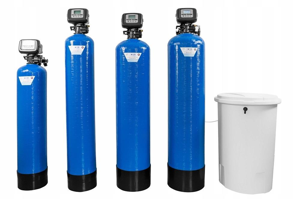 ZMIĘKCZACZ WODY WATER TECHNIC 50 UP-FLOW + DODATKI Pojemność 50 l