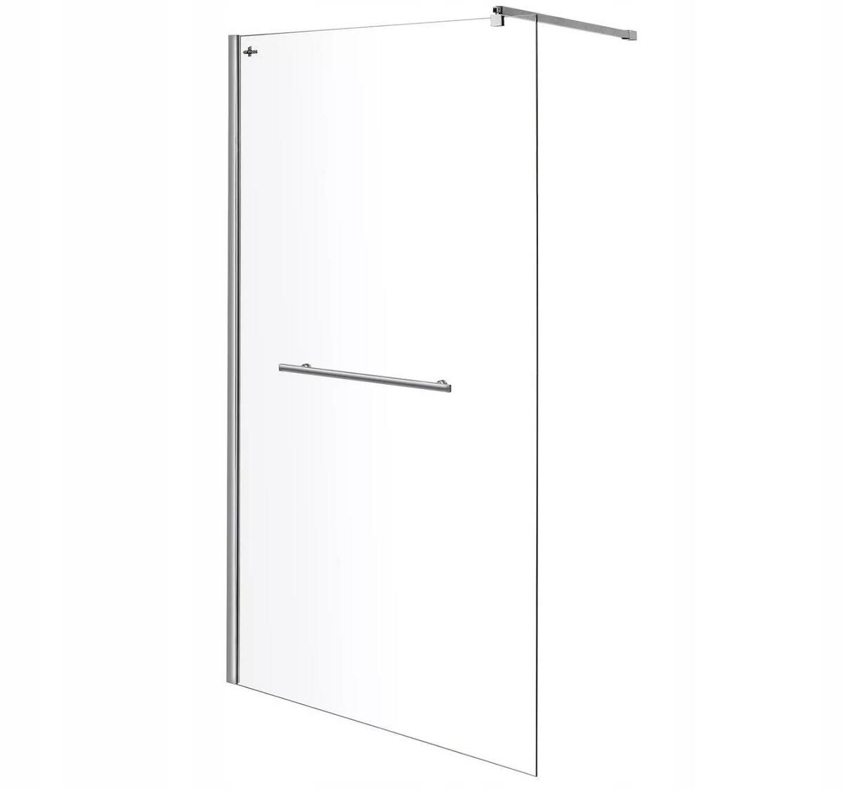 WALK-IN ścianka szyba prysznicowa 90 cm szkło 10mm