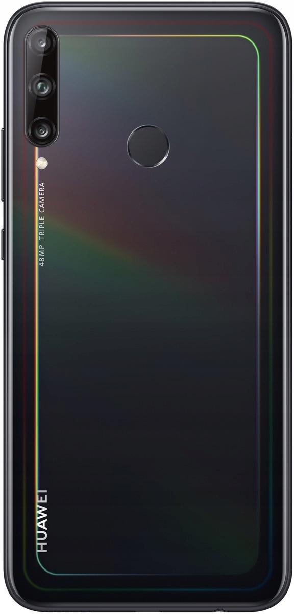 Czarny Smartfon HUAWEI P40 Lite E 4/64GB Pie Typ Smartfon