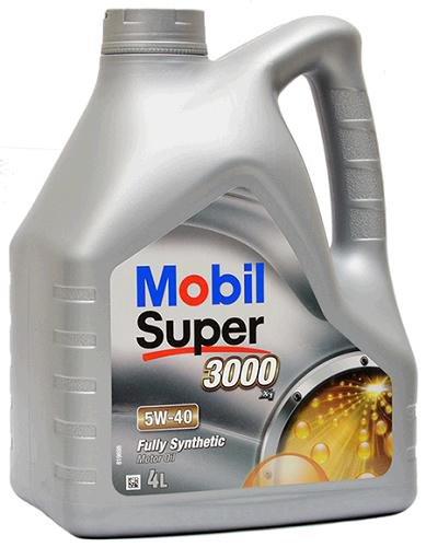 5W40 SS 4/MOB OLEJ 5W-40 MOBIL SUPER 3000 X1 4L