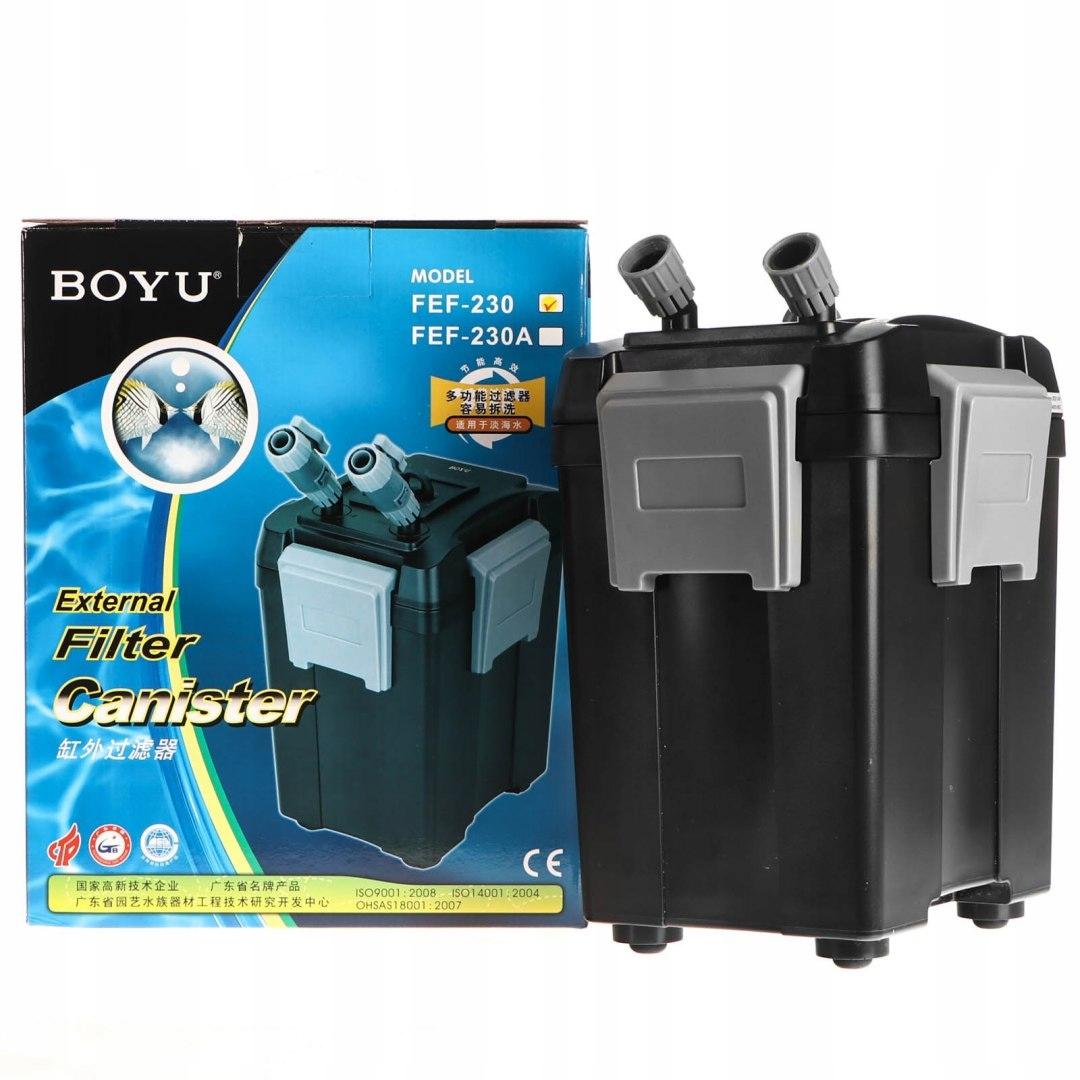 внешний фильтр для аквариума 350л BOYU Gaia