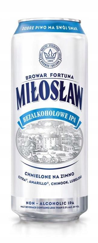 Miłosław Beer Безалкогольный IPA банка 500мл