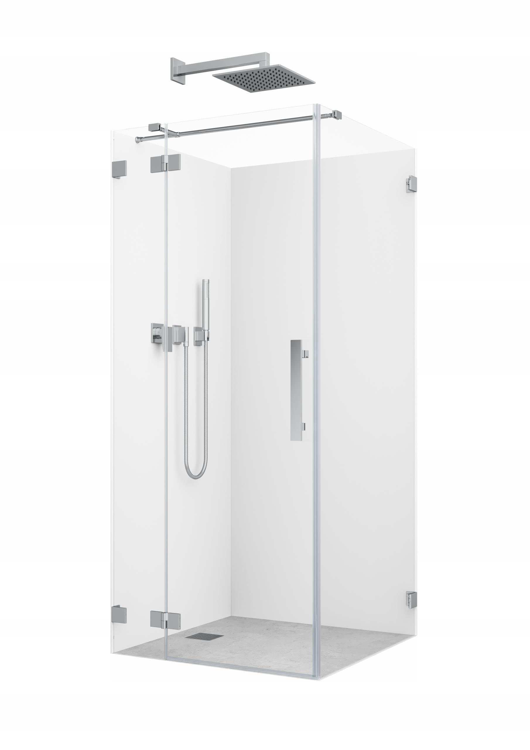 Sprchové dvere L 110x110 Aquante Disenio