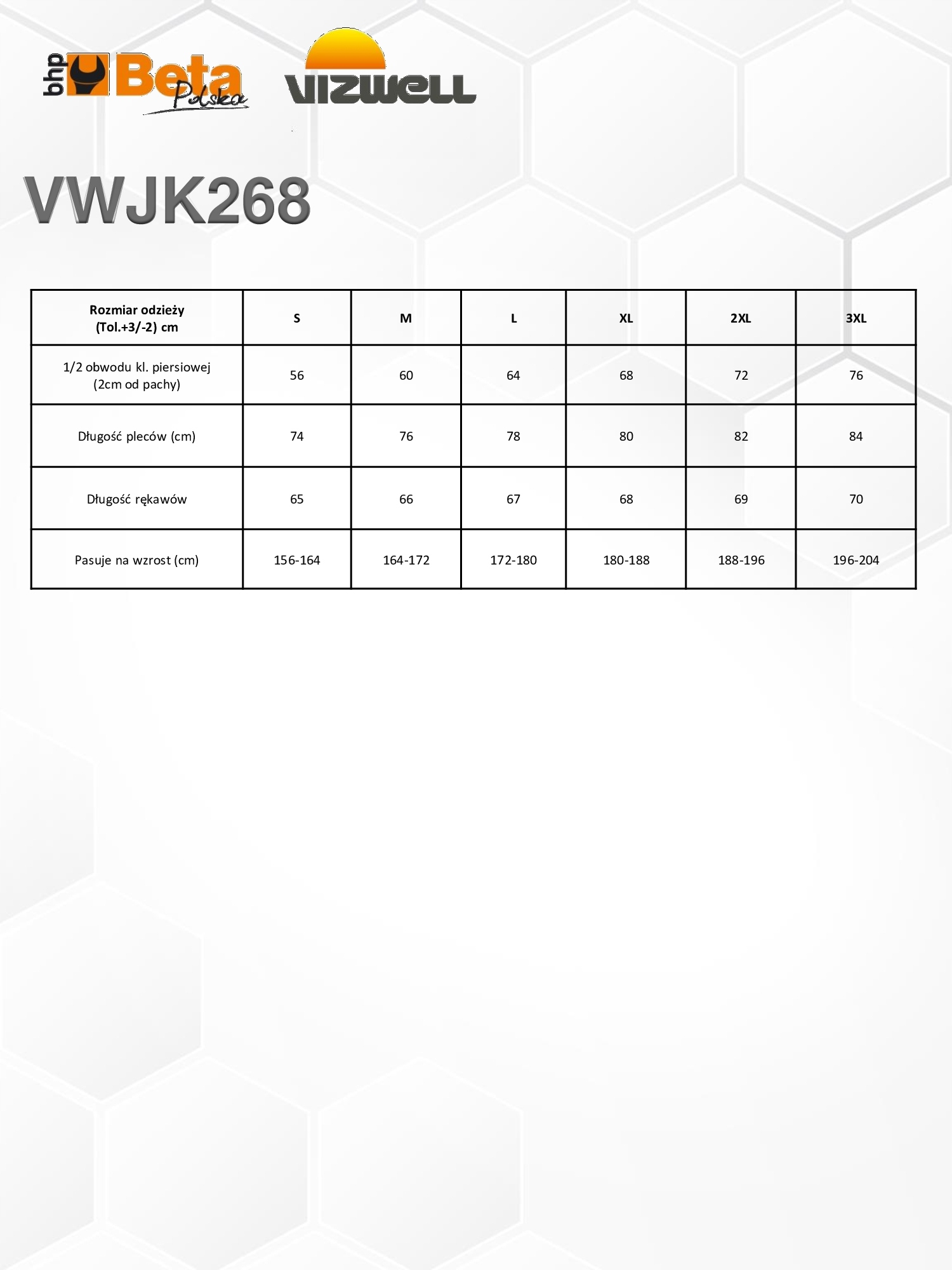 KURTKA SOFTSHELL OSTRZEGAWCZA BETA VIZWELL VWJK268 Cechy dodatkowe odzież odblaskowa odzież wodoodporna odzież ocieplana