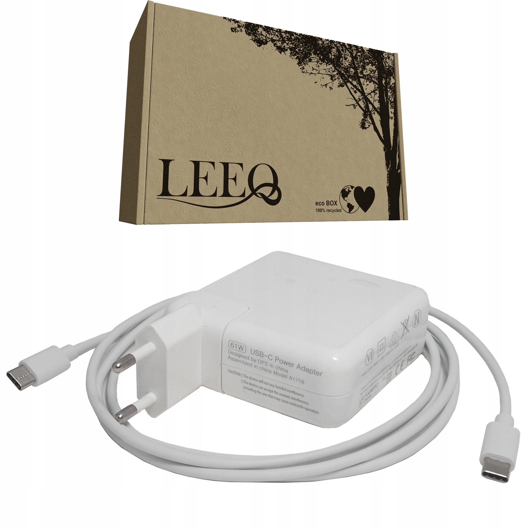 61W lader for APPLE 3A 20V USB-C