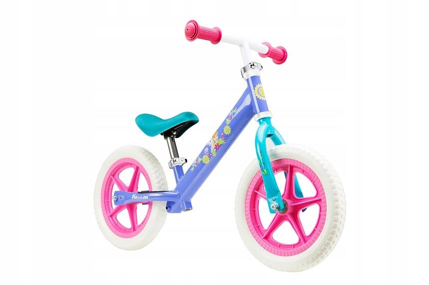 Kovový balančný bicykel Frozen