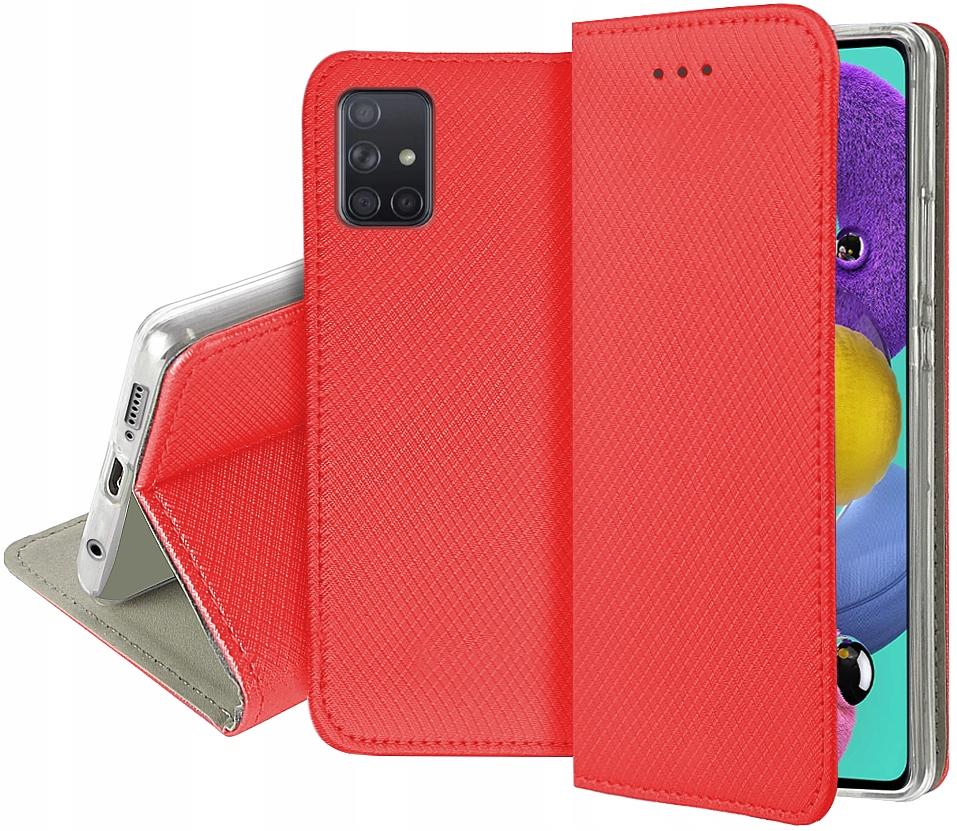 Etui do Samsung Galaxy M51 Smart Magnet Book Szkło