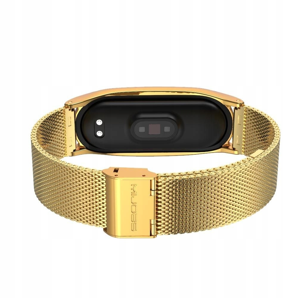 Pasek Milaneseband do Xiaomi Mi Band 5 Gold Producent Tech-Protect