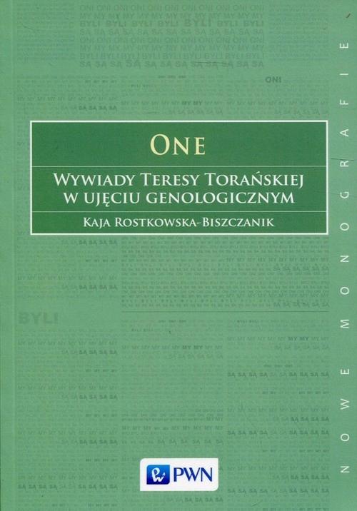 One Wywiady Teresy Torańskiej w ujęciu genologi