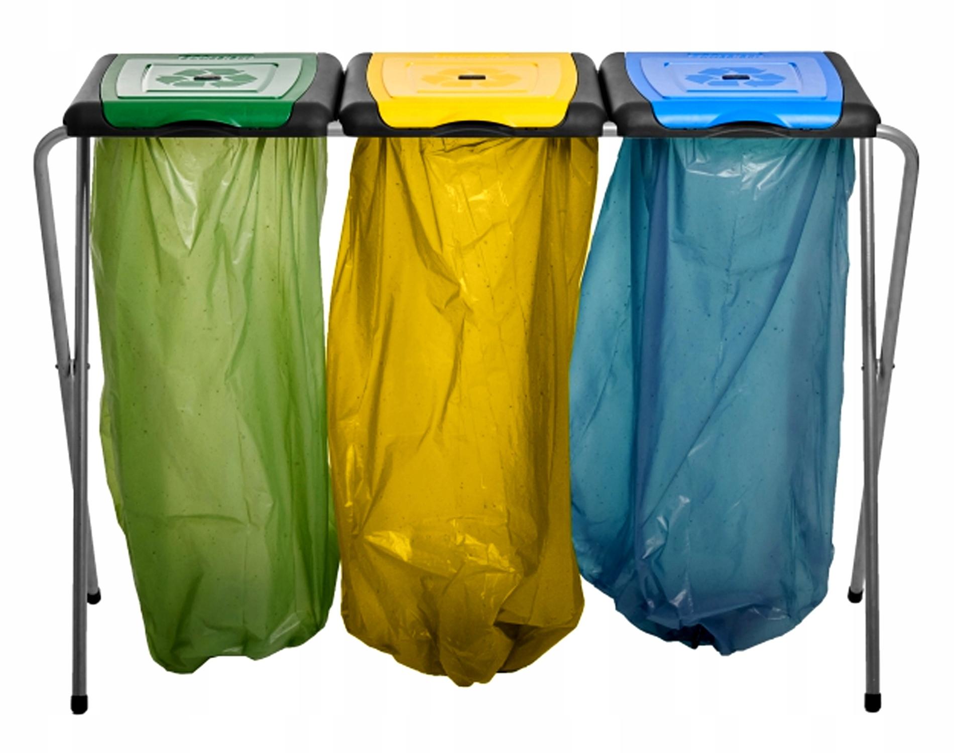 Stojak na Worki KOSZ do Segregacji Śmieci Odpadów