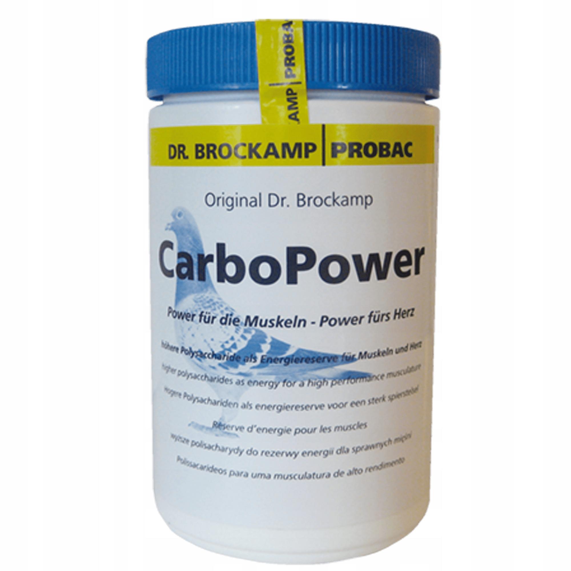 Доктор BROCKAMP CARBO POWER 500G