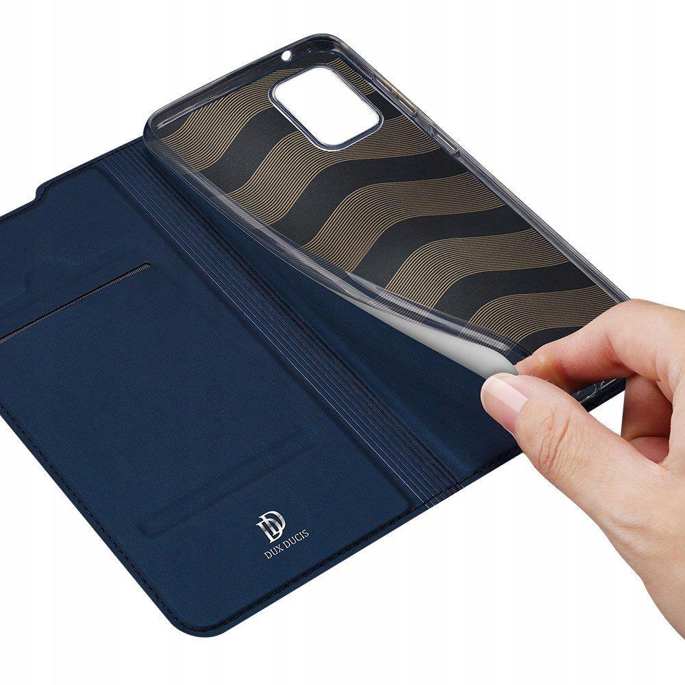 Etui DUX DUCIS + szkło do Samsung S20 FE Granatowy Rozszerzenie podstawka