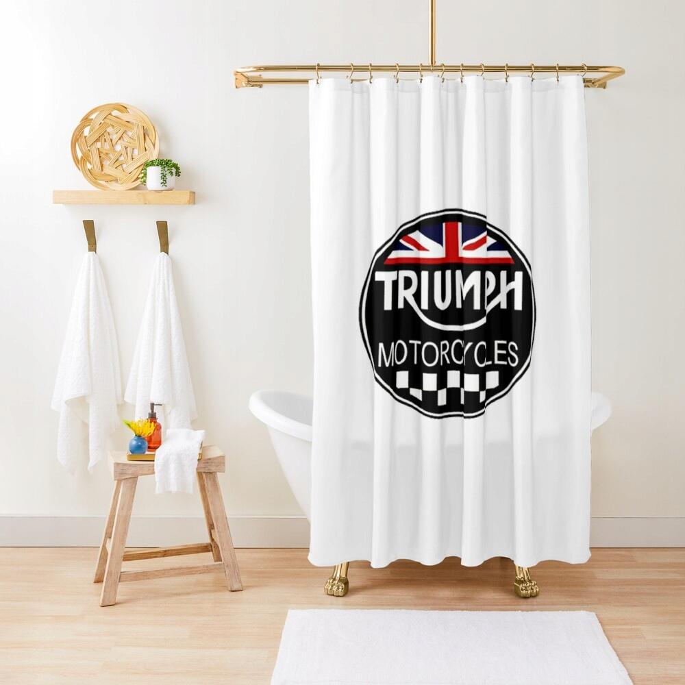 Retro sprchový záves Triumph