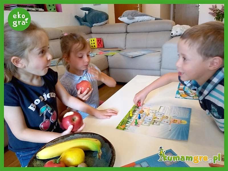 eko gra planszowa dla dzieci PIRAMIDA ZDROWIA Głębokość produktu 21.5 cm