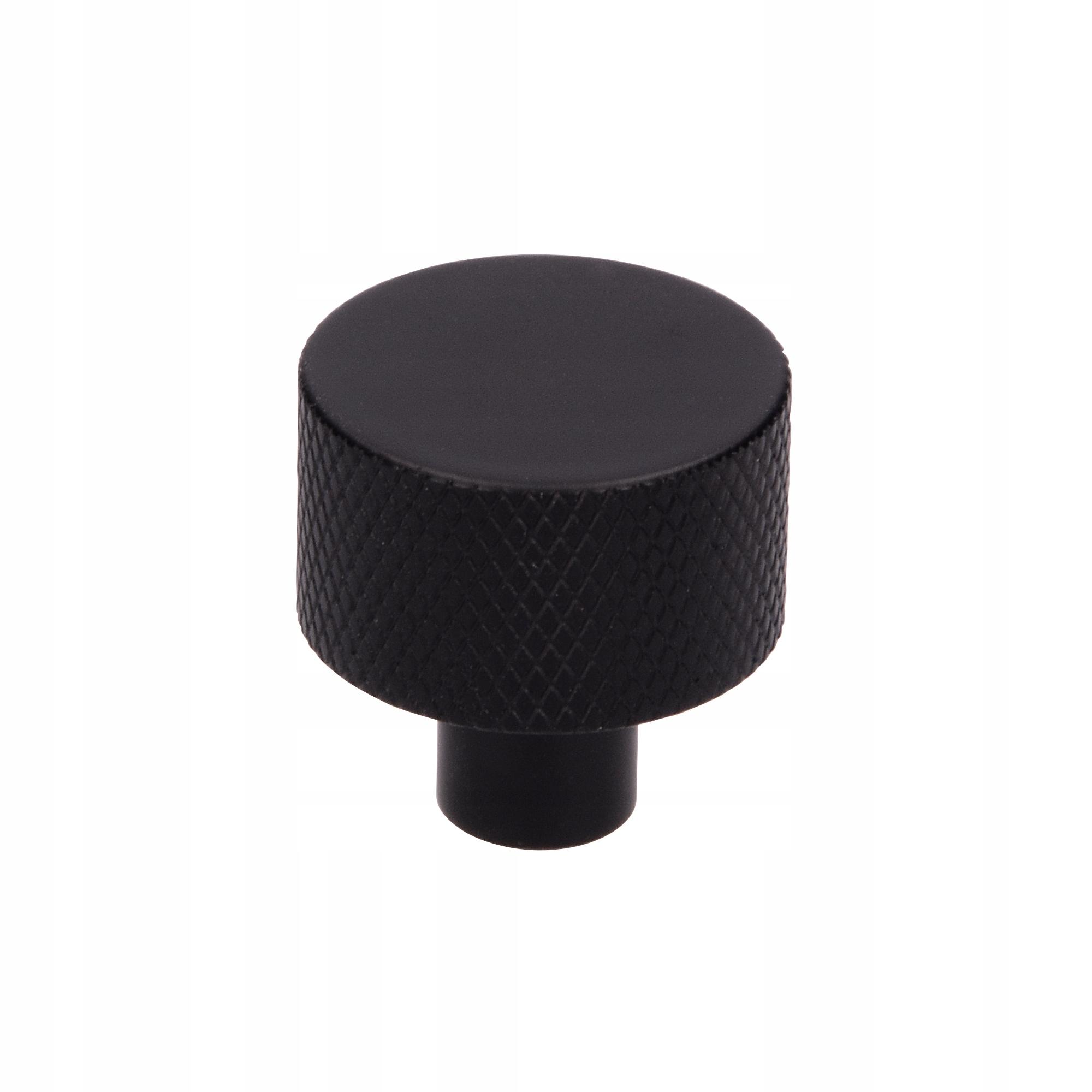 Ручка мебельная LOFT MUSKARI Ribbed Fi-24 BLACK