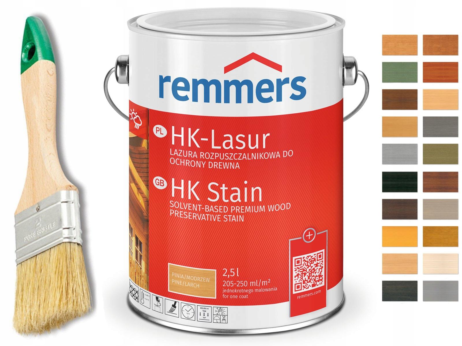 Remmers HK-Lasur-пропитка для дерева 10Л ЦВЕТА