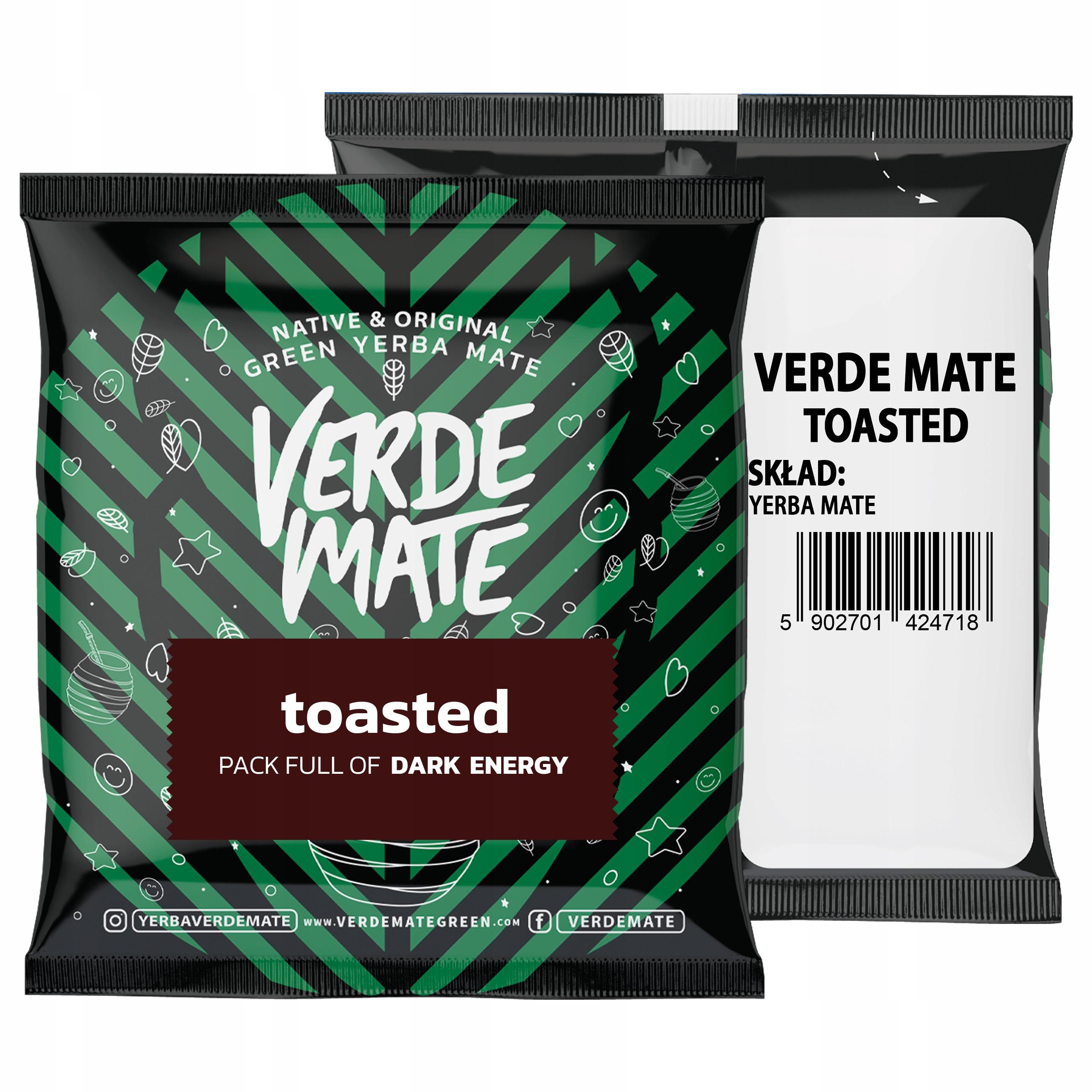 Próbka Yerba Verde Mate Green Toasted 50g