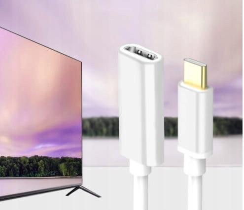 KABEL ADAPTER USB-C 3.1 TYP C DO HDMI 4K MHL UHD Zastosowanie USB, FireWire
