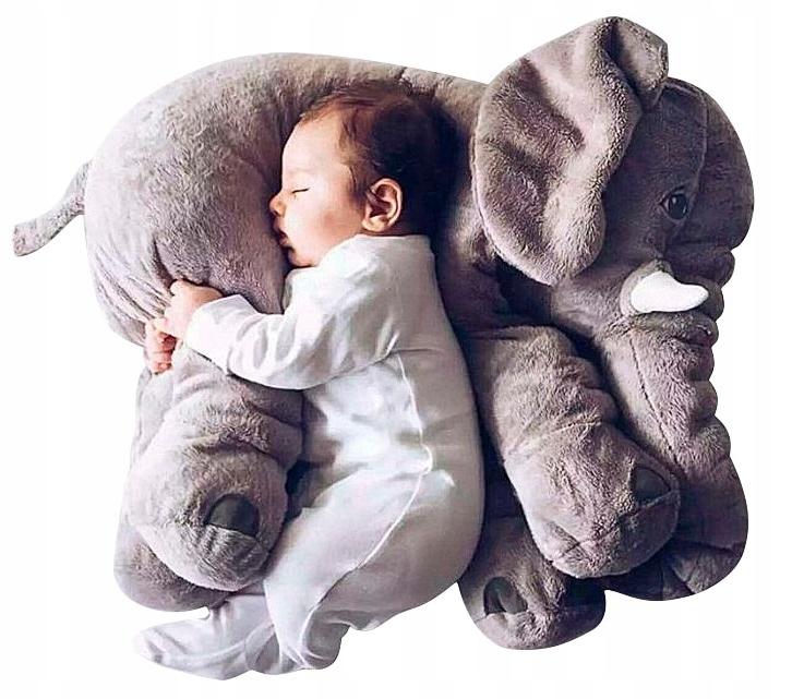 ELEPHANT PLUSH TOY CUSHION CUSHION 60 CM