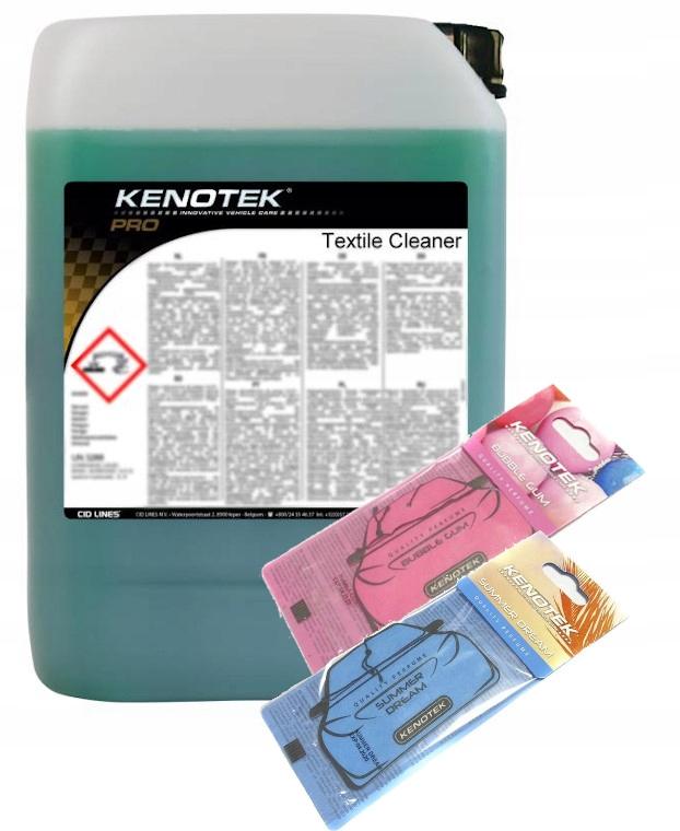 KENOTEK TEXTILE CLEANER do prania tapicerki 10l