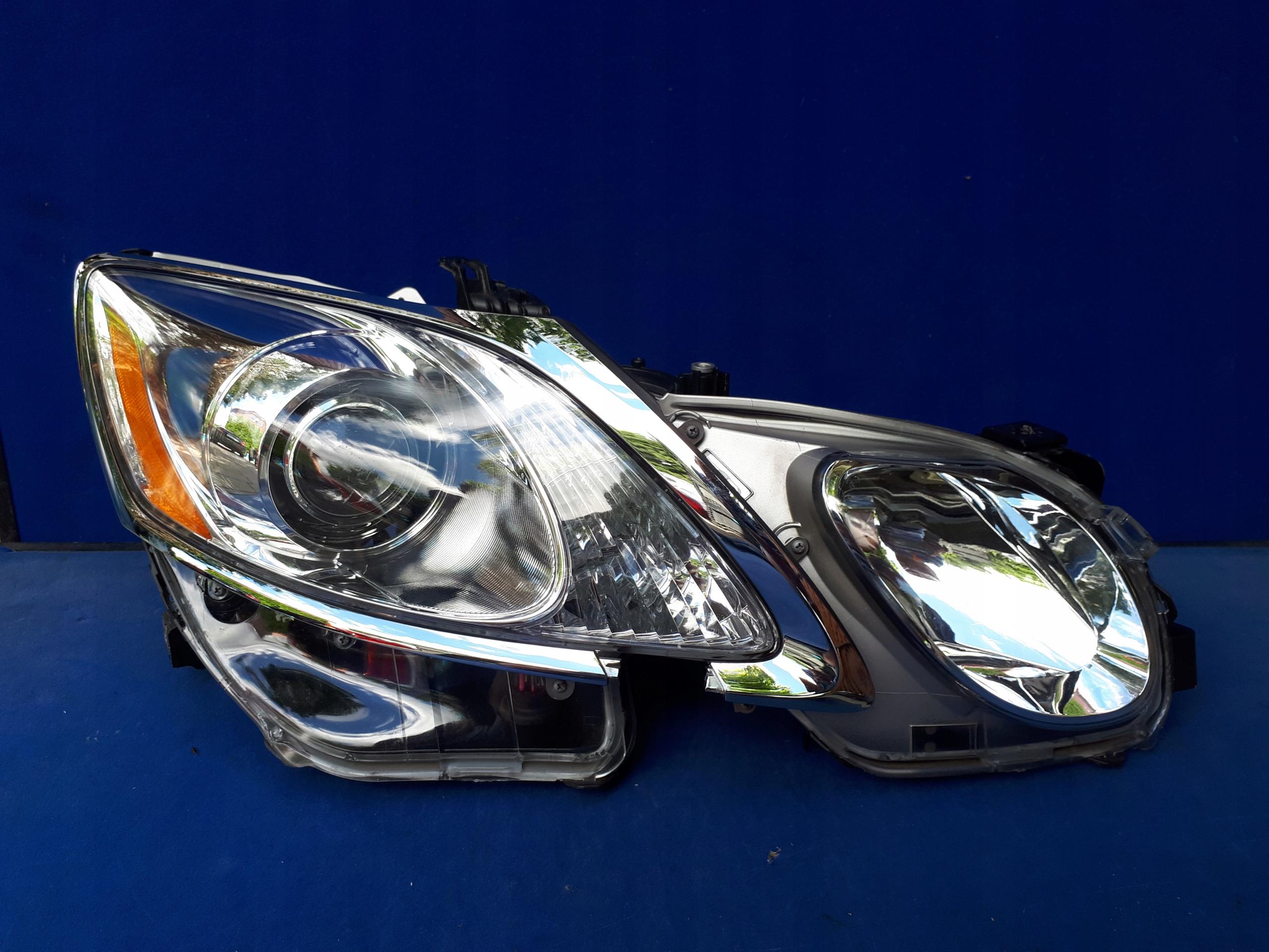 lexus gs300 lift 2008-2011 ксенон фары лампа