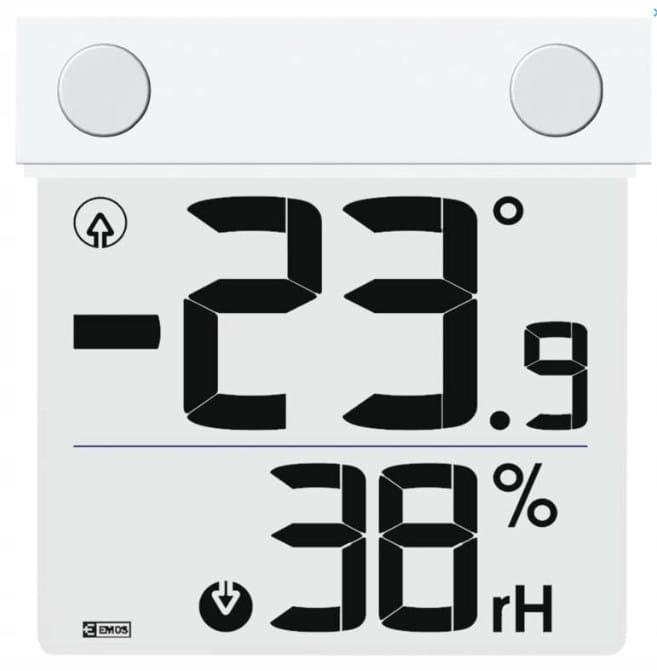 Termometr bezprzewodowy na okno okienny E1278