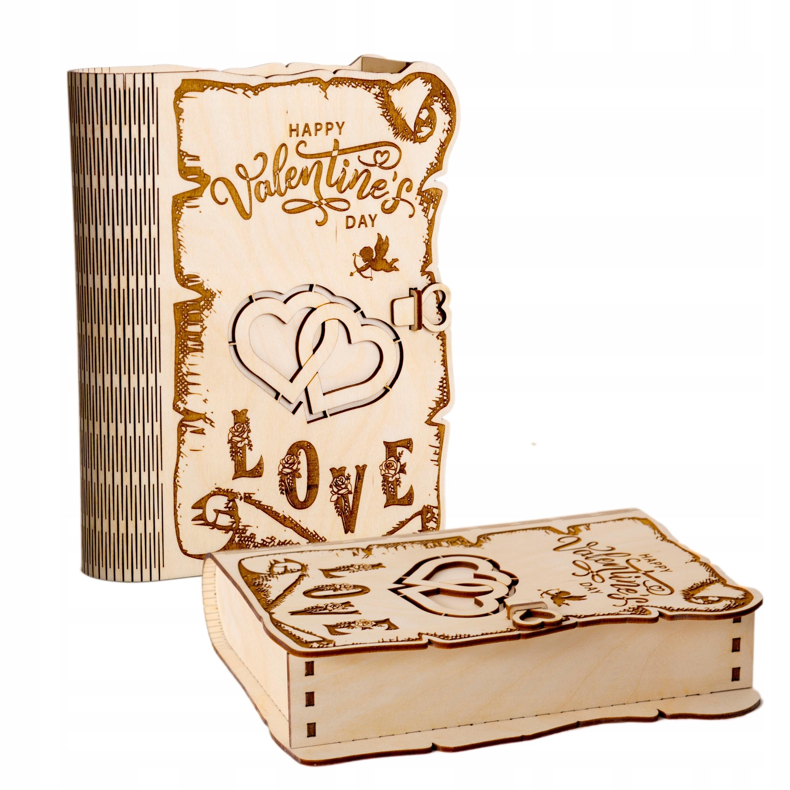 Подарочная коробка ко Дню святого Валентина с персонализацией
