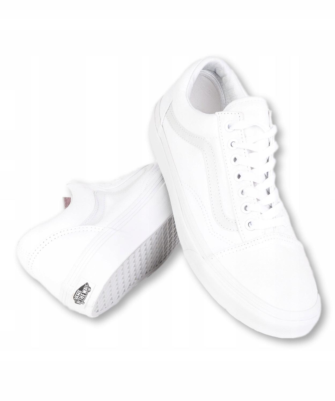 Buty Vans U OLD SKOOL V00D3HW00 True White 11
