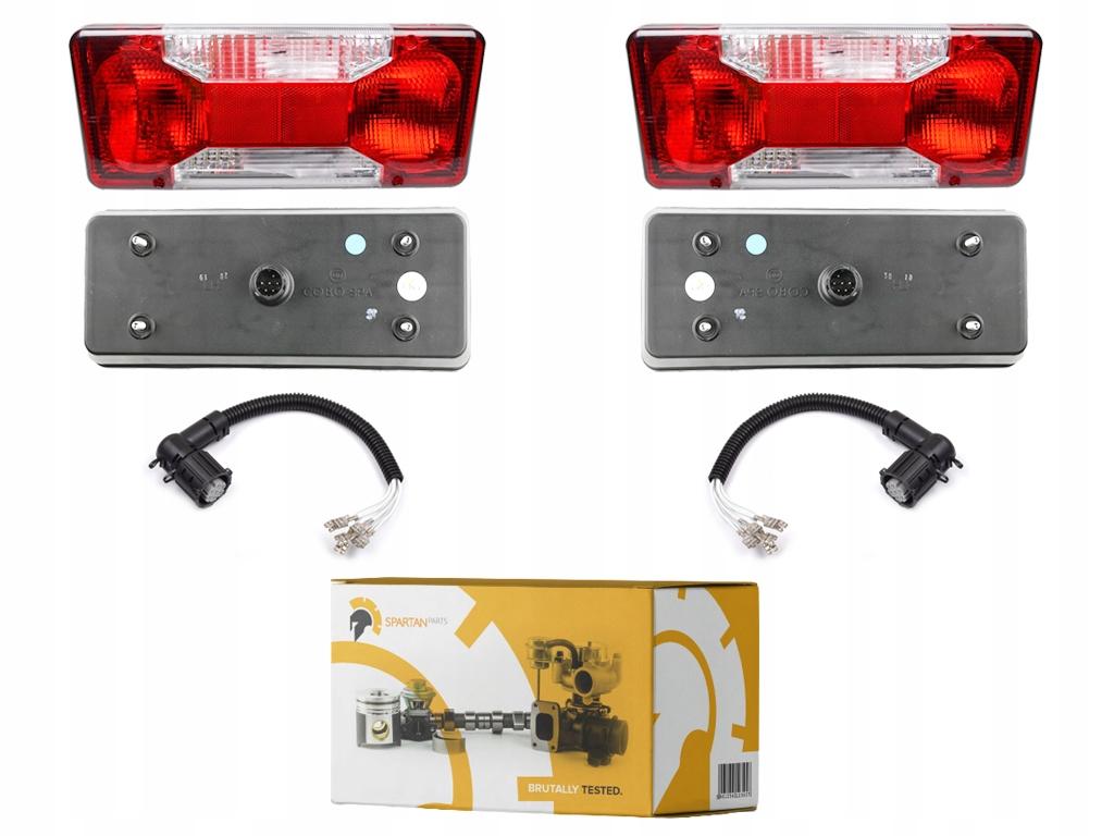 комплект лампы задних z пучками iveco daily ducato
