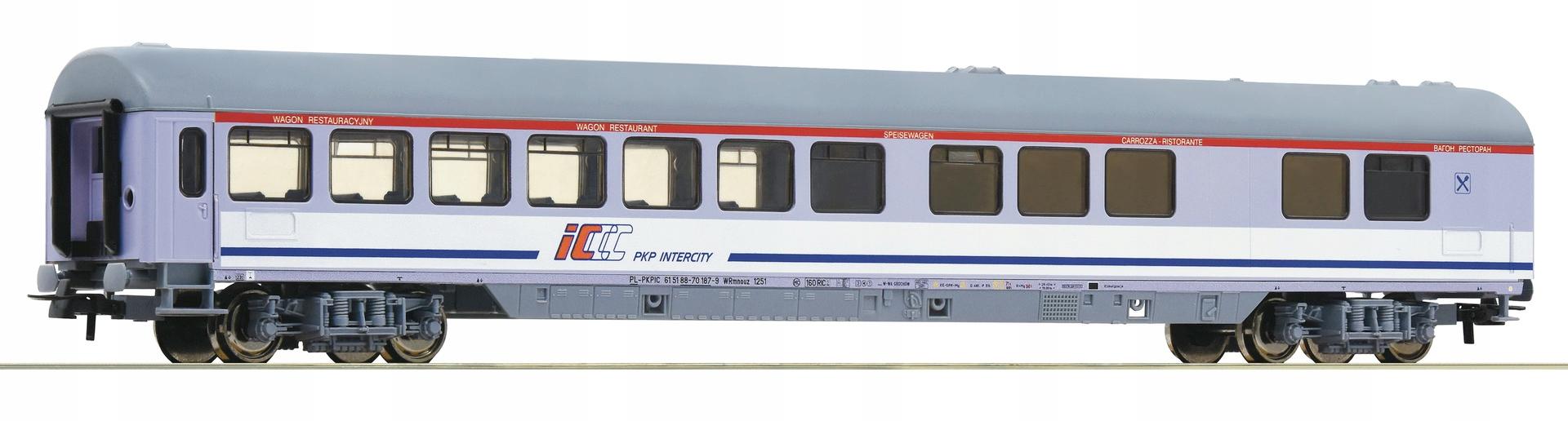 ROCO 54174 wagon restauracyjny PKP InterCity WARS