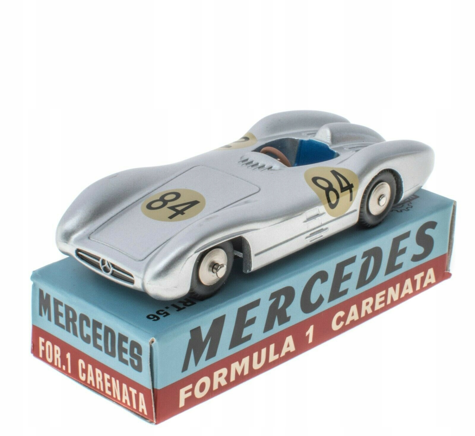 Мерседес F1 Carenata Mercury Hachette 1:48