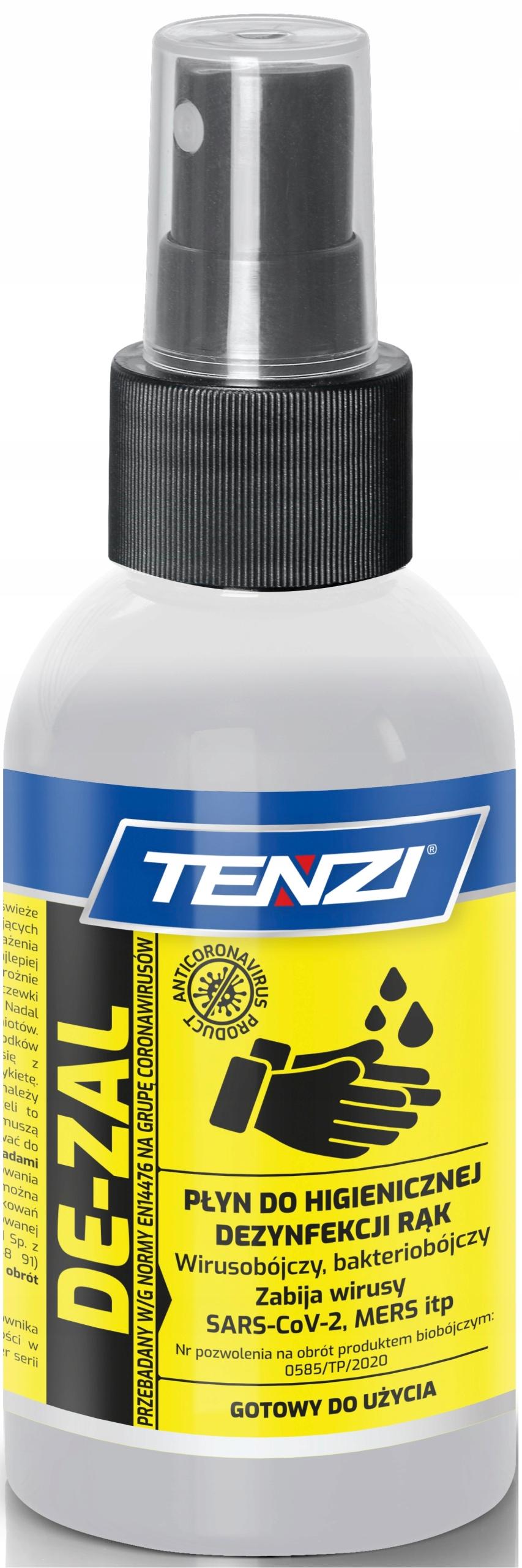 Tenzi De-zal Жидкость для гигиенической дезинфекции рук