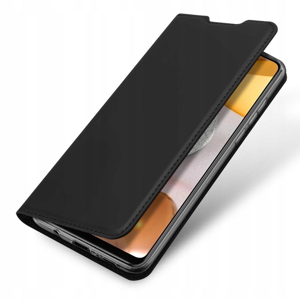 Etui DUX DUCIS + szkło do Samsung Galaxy A42 5G Kolor czarny