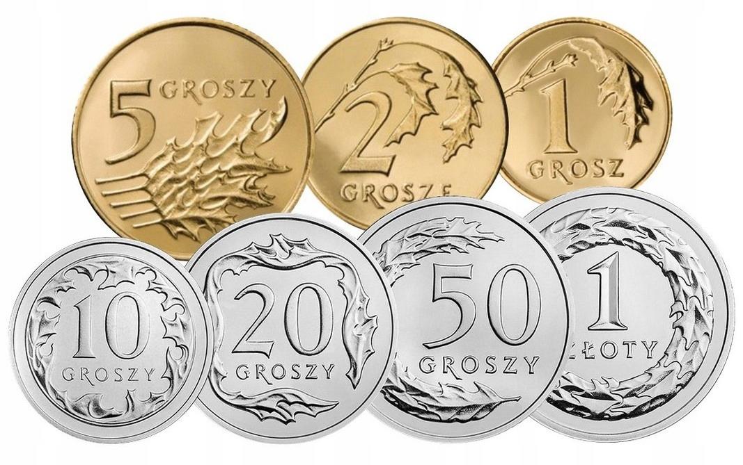 Набор циркуляционных монет 1990 UNC 7 штук