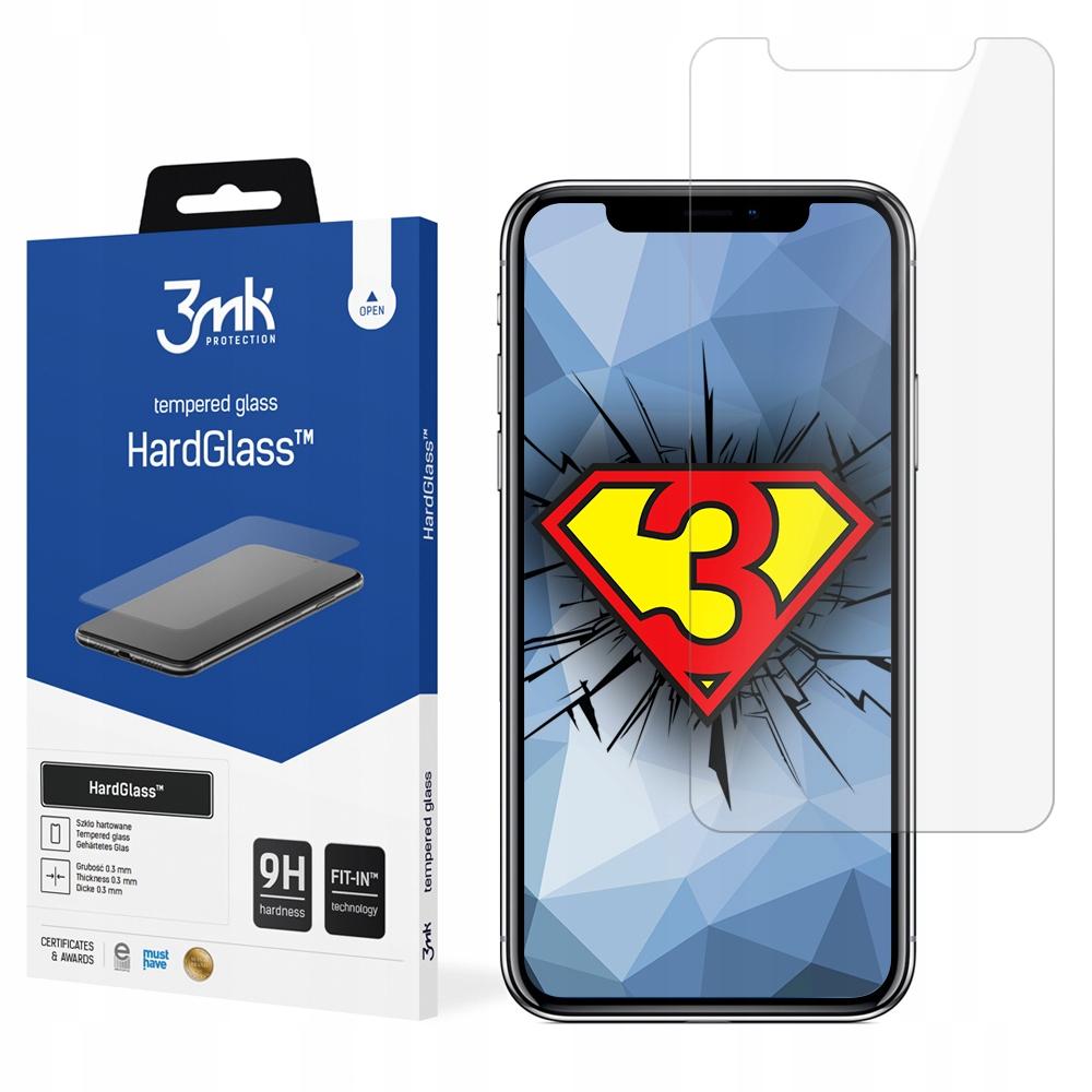 Szkło hartowane ochronne do iPhone X 3mk HardGlass