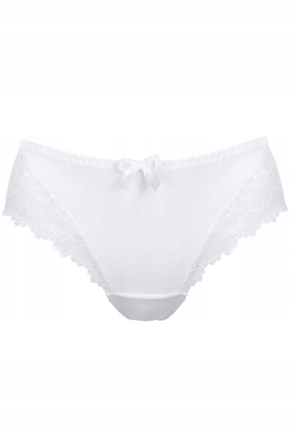 Stringi Mat S-053/4 Carmela biały 40