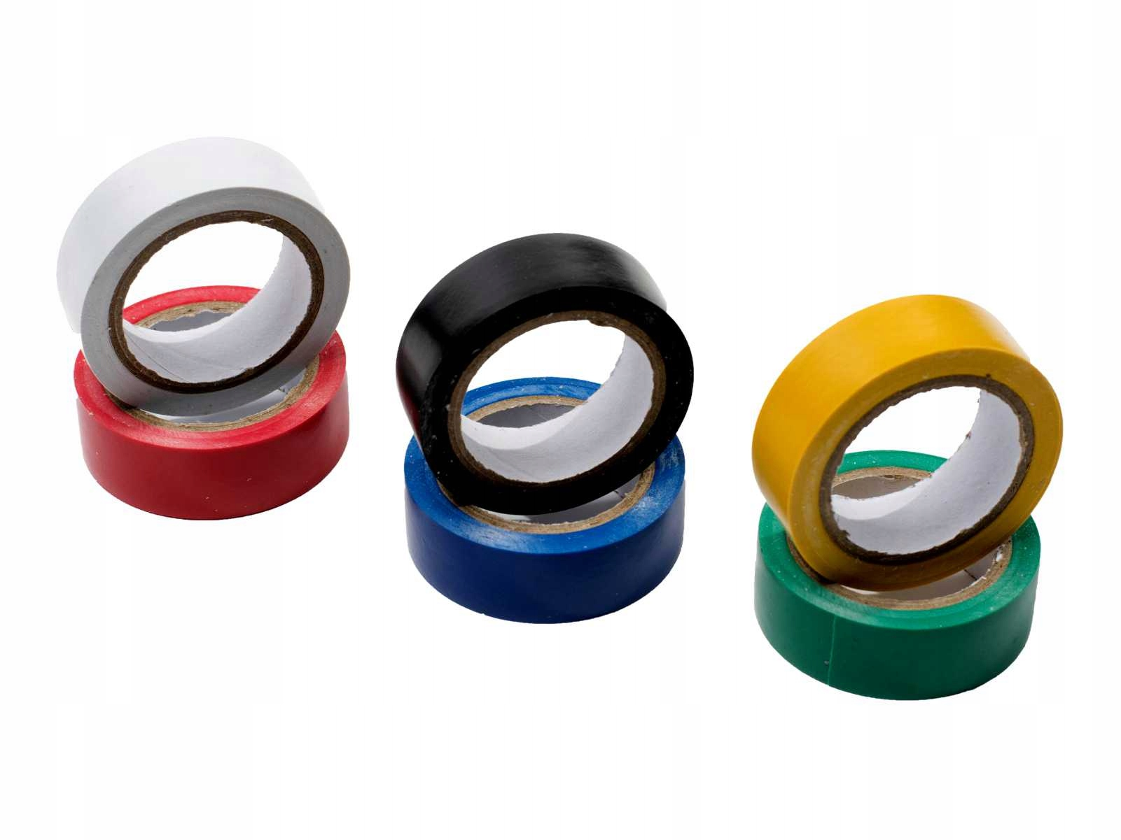 ПВХ изоляционные ленты цвета цвета 15mm 6 шт